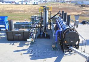 tyre pyrolysis oil plant