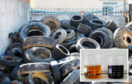 Get Tyre Oil from Continuous Pyrolysis