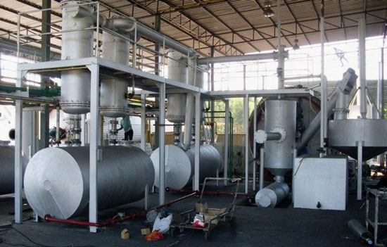 Pyrolysis Machine For Waste Tyres