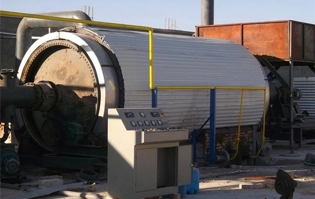 Pyrolysis Plant For Waste Tire And Plastic Scrap