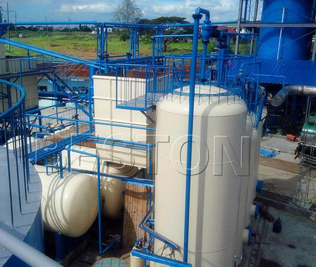 Recycle Used Engine Oil And Tyres Plant