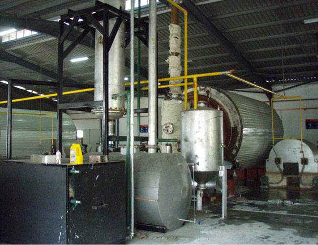 Tyre recycling systems