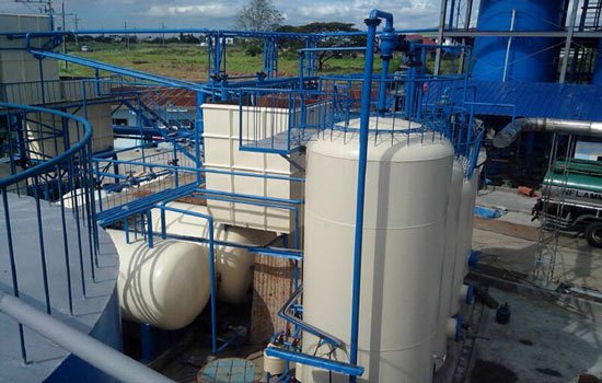Waste Engine Oil Recycling System
