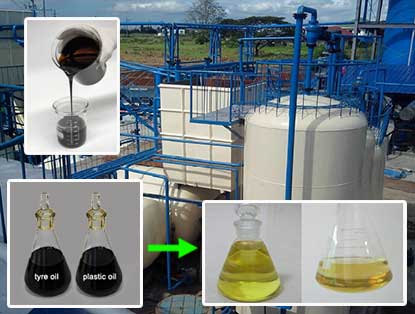 Waste Tyre Oil Distillation To Diesel