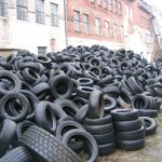 The methods of tackling waste tyre