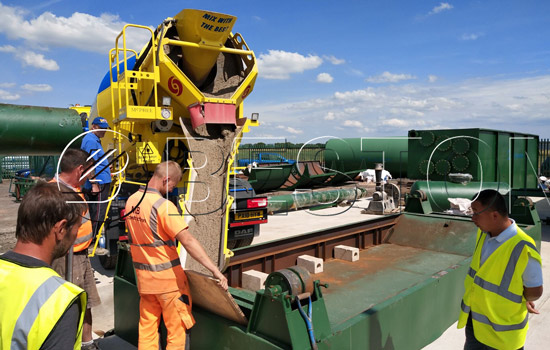 Beston Hot Pyrolysis Machines Installed in England