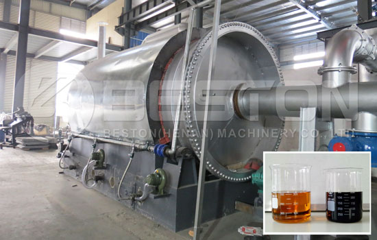 Reasonable Beston Tire Recycling Plant Cost to All Customers