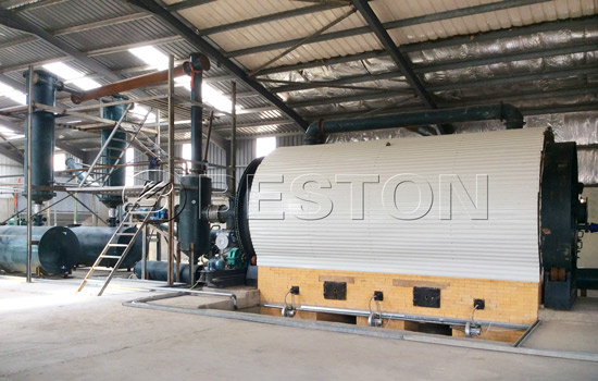 Beston Waste Tyre Recycling Equipment with Energy-saving System