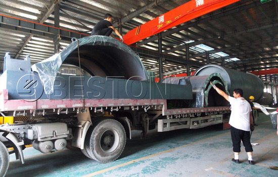Shipment of BLJ-10 Waste Tyre Pyrolysis Plants to South Africa