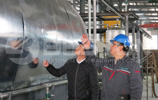 Beston Provides Fair Tyre Recycling Plant Cost