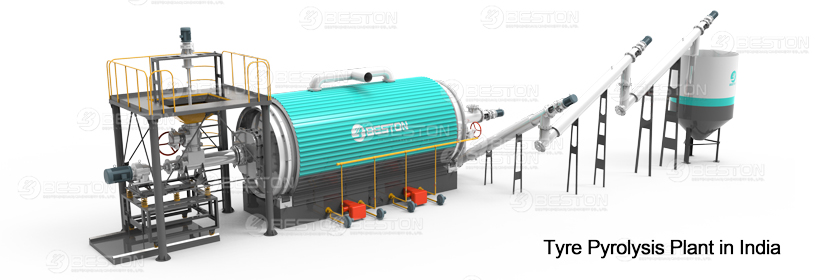 Upgraded Tire Pyrolysis Plant in India