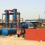 Waste Tyre Recycling Pyrolysis Plant in China
