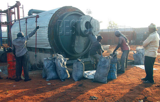 tyre recycling machine cost