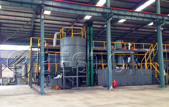 Beston Tyre Recycling Plant for Sale with Good Quality