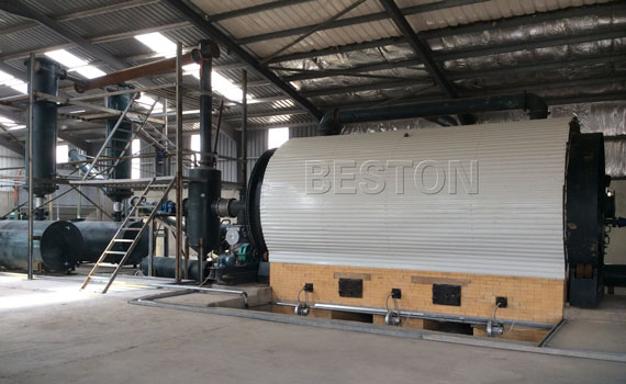 Tyre Pyrolysis Plant In Jordan