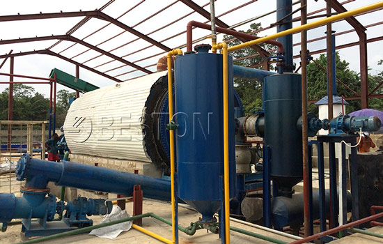 Reasonable Cost of Tyre Pyrolysis Plant Installed in Nigeria