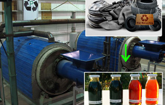 Tyre Rrecycling Plant Manufacturer