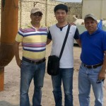American Customers Come To Visit Tire Pyrolysis Plant