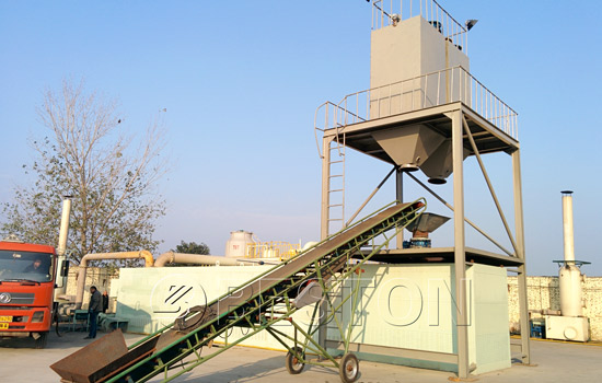 Beston Tyre Oil Plant with Several Features