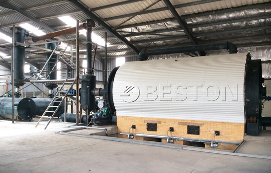 Beston Waste Tyre to Oil Plant for Sale with Safety Design