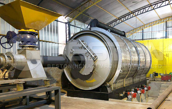 Beston Tire Recycling Plant for Sale