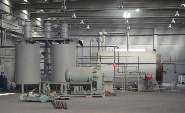 Waste Tyre Recycling Machinery