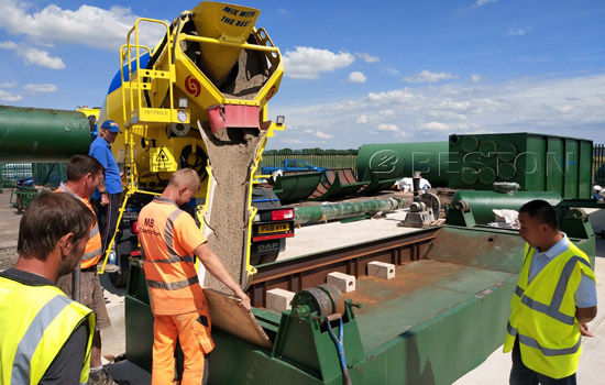 Beston Tyres to Oil Machine Assembled in England