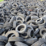 Illegally dumped tyres poisoning environment