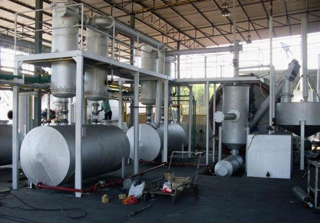 Waste Tyre To Fuel Oil Plant
