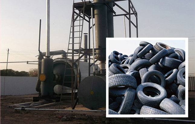 Tyre To Oil Machine