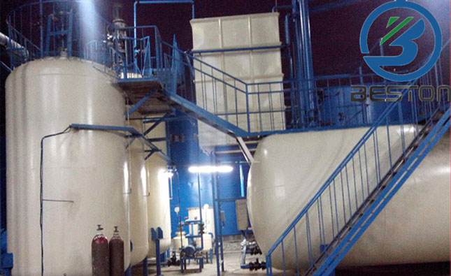 JL-2 oil distillation plant was successfully installed in Ukraine