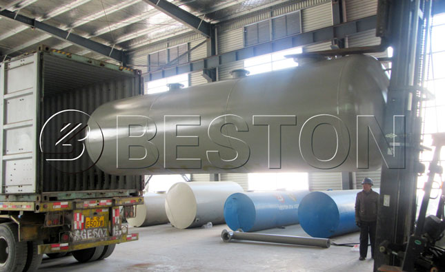 Pyrolysis Plant Was Shipped To The Netherlands