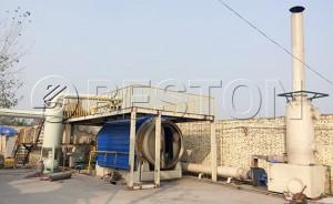 Batch Operating Pyrolysis Plant