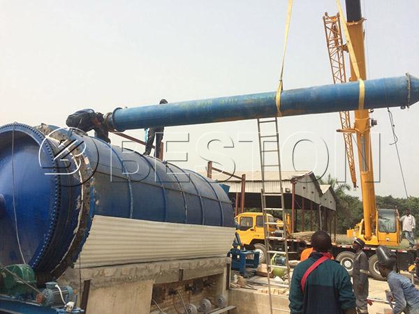 Oil Sludge Recycling Pyrolysis Plant In Nigeria