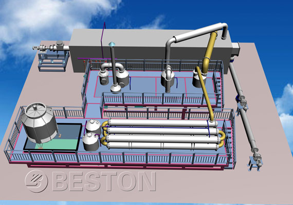 continuous medical waste pyrolysis plant