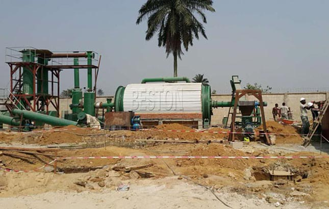 sludge oil recycling plant