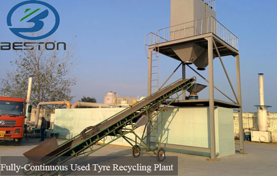waste tires into energy plant