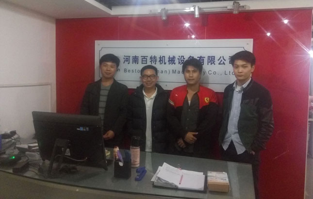Thailand Customers Came To Visit Beston