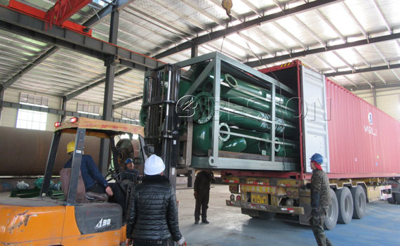 Beston Pyrolysis Machine Was Exported To Turkey