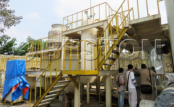 Senegal Customer Visited Beston Factory