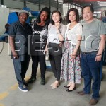 Two Nigerian customers Came To Visit Beston Machinery