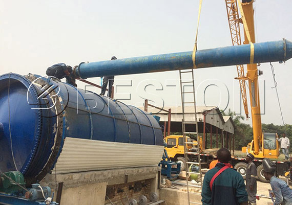 Waste Pyrolysis Plant In Nigeria