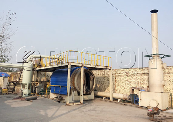 Batch Plastic to Fuel Pyrolysis Plant