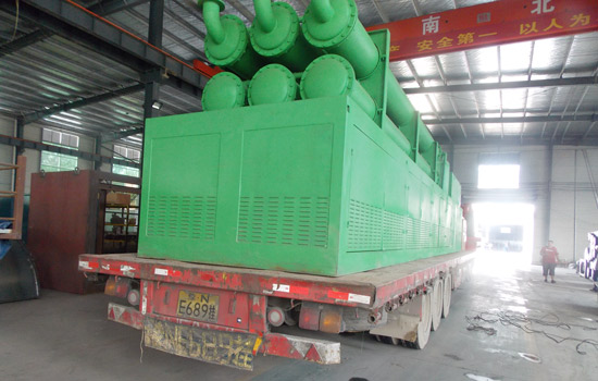 Beston Pyrolysis Equipment Shipment to Romania