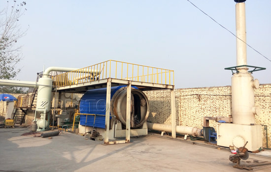 Beston Waste Plastic To Fuel Oil Conversion Plant for Sale