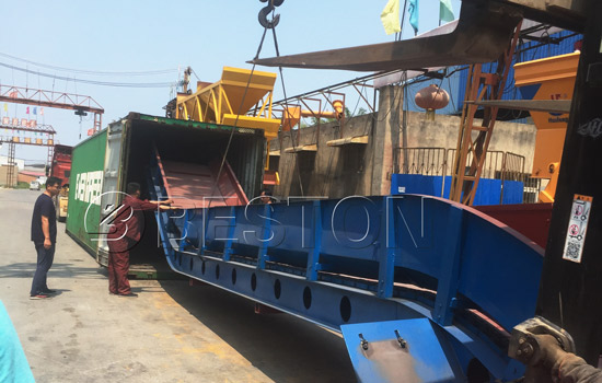 Beston Waste Sorting Equipment for Sale Shipped to Hungry