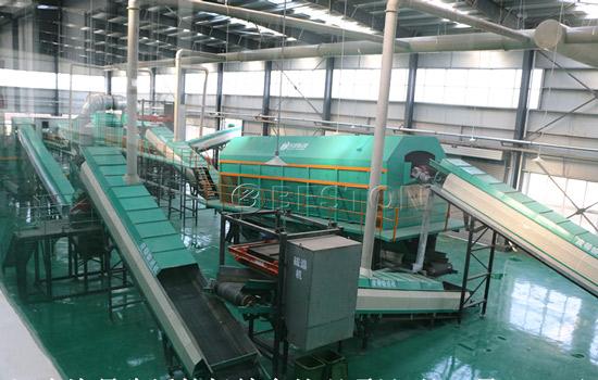 Beston Waste Sorting Machine with High Quality