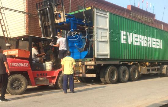 Beston Waste Sorting Plant Shipment to Hungary