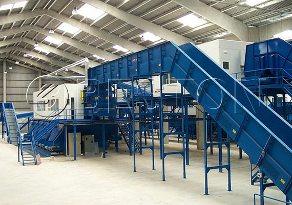 Municipal Solid Waste Recycling Sorting Machine