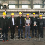 Romanian Customers Came to China to Visit Pyrolysis Plant